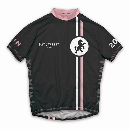 Fat Cyclist 2009 Jersey: Men's Front      